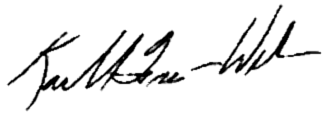 Mayor Freeman-Wilson's signature